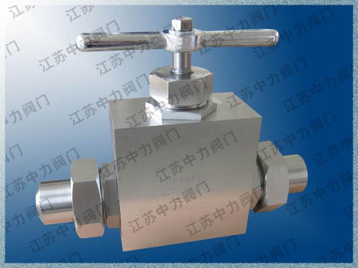 不锈钢超高压焊接式截止阀