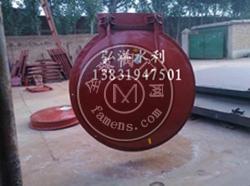 供应四川污水处理2m*2m铸铁圆拍门 钢制方拍门