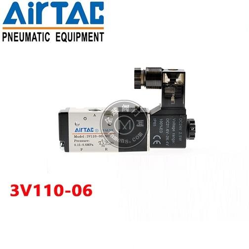亚德客电磁阀3V110-06
