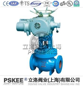 电动直通式排泥阀,J941X电动直通式隔膜排泥阀,PSKEE电动排泥阀品牌厂家