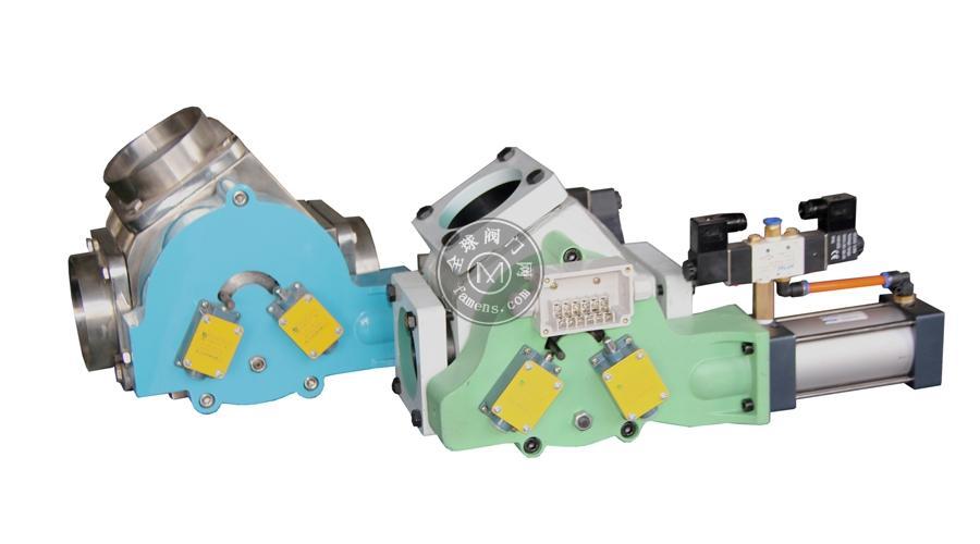 供应潜合球墨铸铁双路阀,碳钢双路阀QHFXT系列