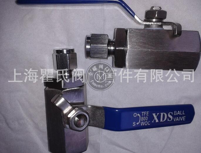 304不锈钢材质QG.QY1型气源球阀1/2-ф8