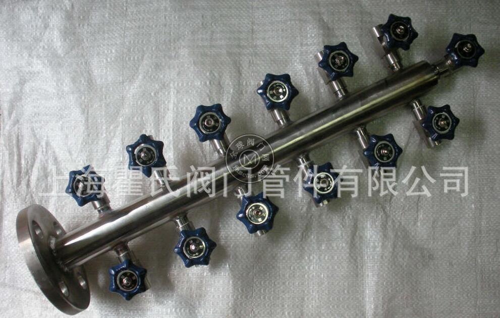 304不锈钢材质KFQ-1-12T空气分配器