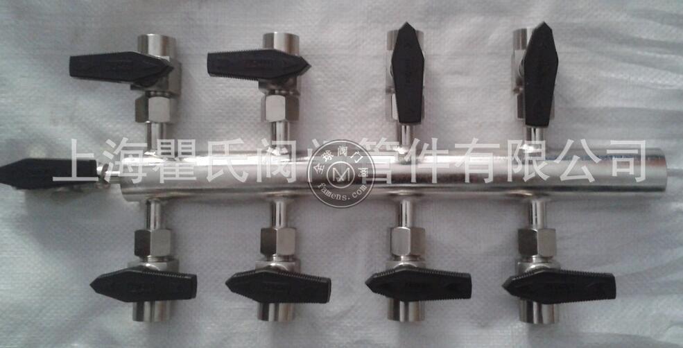 304不銹鋼材質KFQ氣源分配器