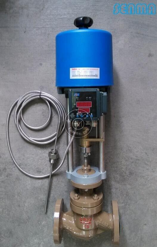 电动型自立式温度调节阀zzwpe图片