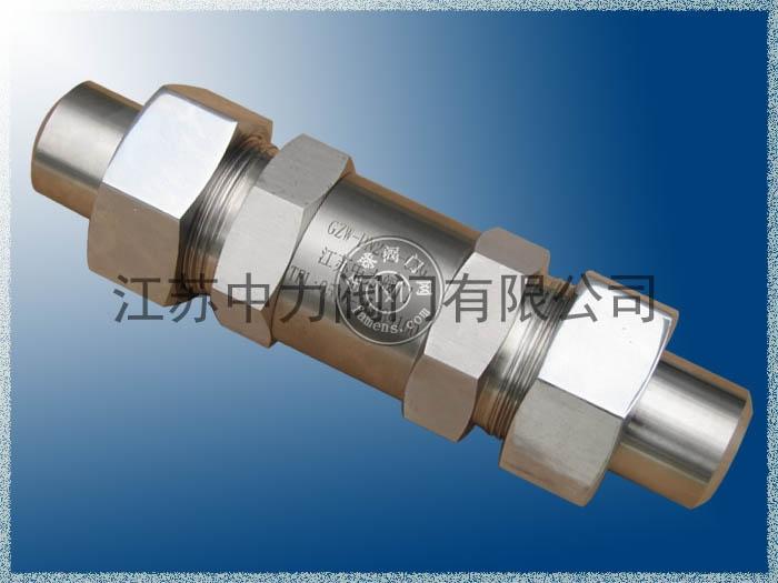 不锈钢CNG高压阻火器