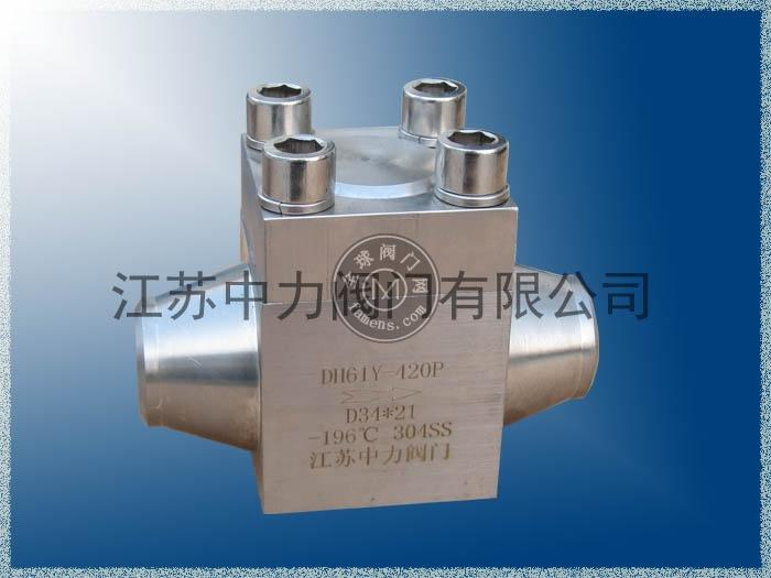 DH61Y不銹鋼低溫高壓止回閥