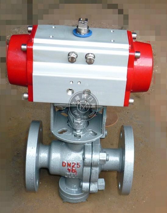 Q641F、Q641Y 型氣動球閥