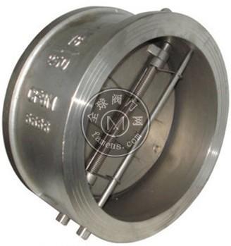 H76H-16C对夹式双瓣止回阀