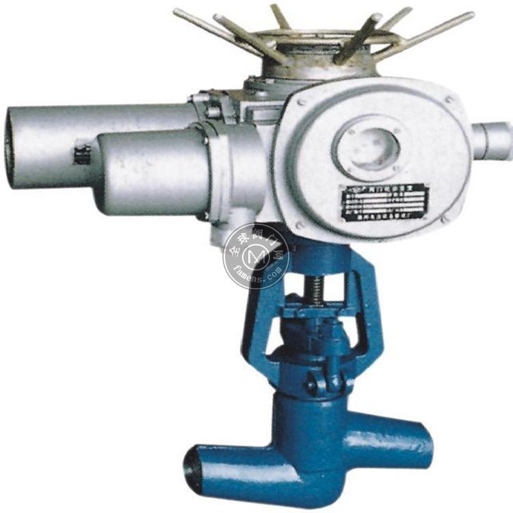 J961Y/H-16C电动焊接截止阀(铸钢焊接截止阀)