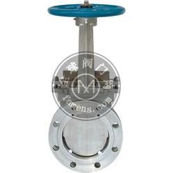 電液動不銹鋼對夾式刀型閘閥