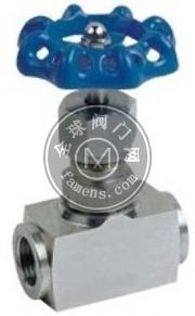 不銹鋼針型閥,J13H內螺紋針型閥