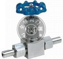 不銹鋼針型閥,J23H外螺紋針型閥