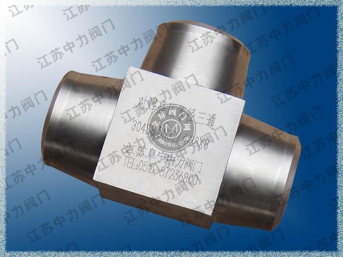 不锈钢锥密封对焊高压接头