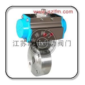 不銹鋼氣動超薄高壓球閥