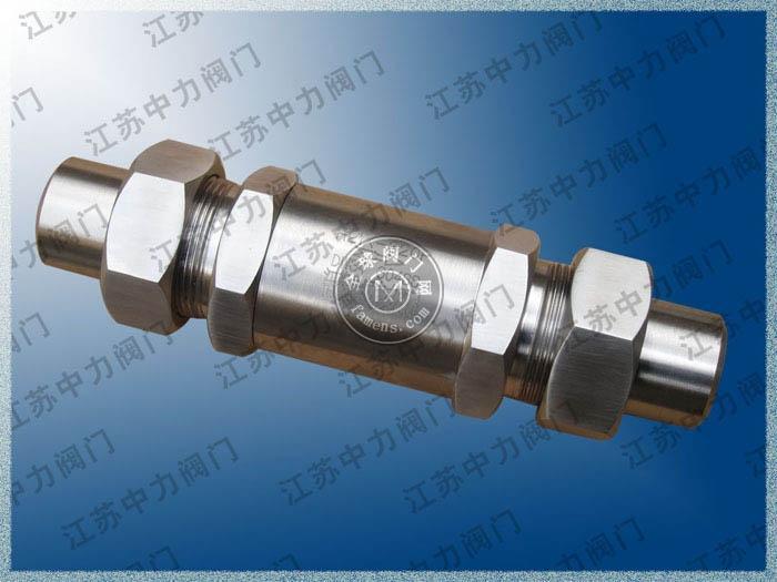 GH21X不锈钢超高压止回阀