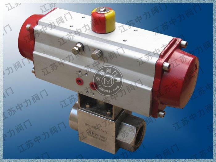 Q611N气动高温高压球阀