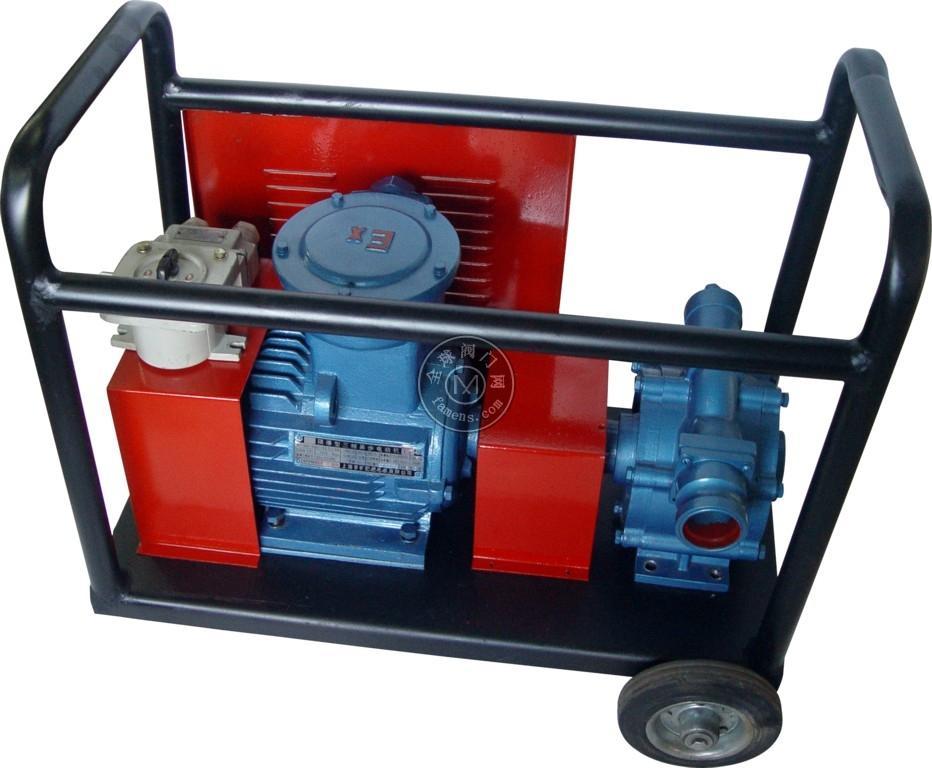 KYB移动式自吸油泵