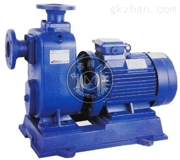 ZWL臥式直連式自吸排污泵