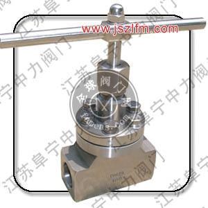 高压低温承插焊截止阀