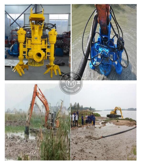挖机液压绞吸泵-环保行业必备机械