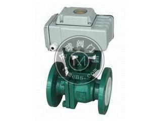 Q941F4-10C/Q941F46电动衬氟球阀