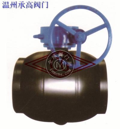 Q367F 燃气用全焊接固定式球阀