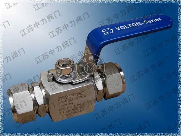 不銹鋼進口高壓球閥