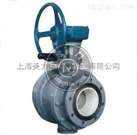 蜗轮传动陶瓷球阀/氧化锆陶瓷球阀