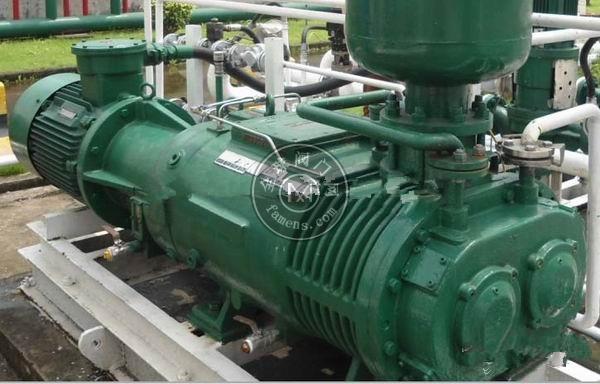 进口防爆真空泵韩国SVC干式螺杆型 ExdIIBT4