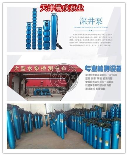 250QJ50-510-125KW耐高温深井泵厂家直销