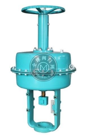 ZHA/B气动薄膜顶装执行器