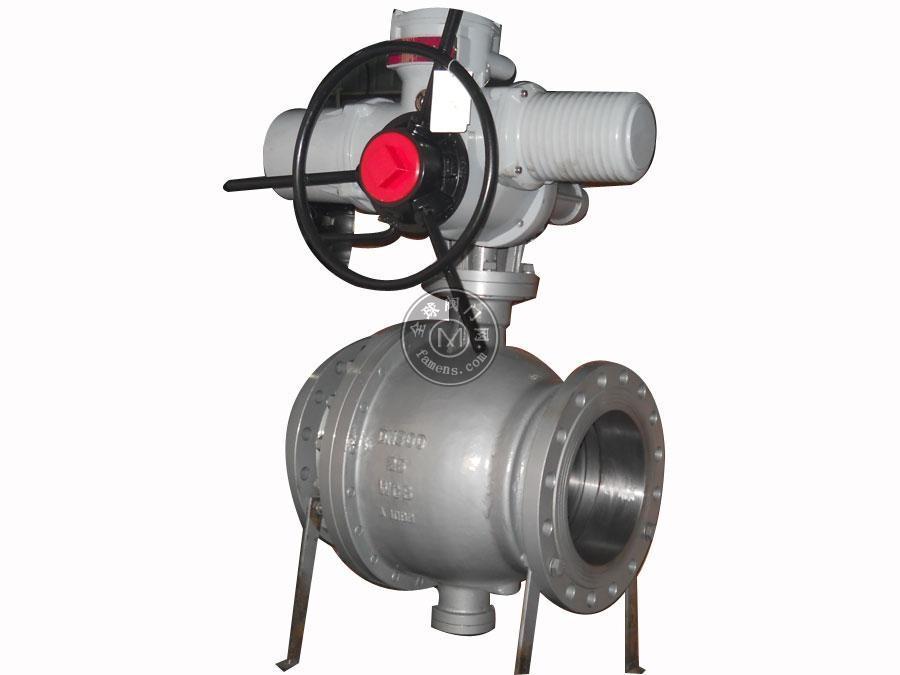 Q947F電動法蘭固定球閥