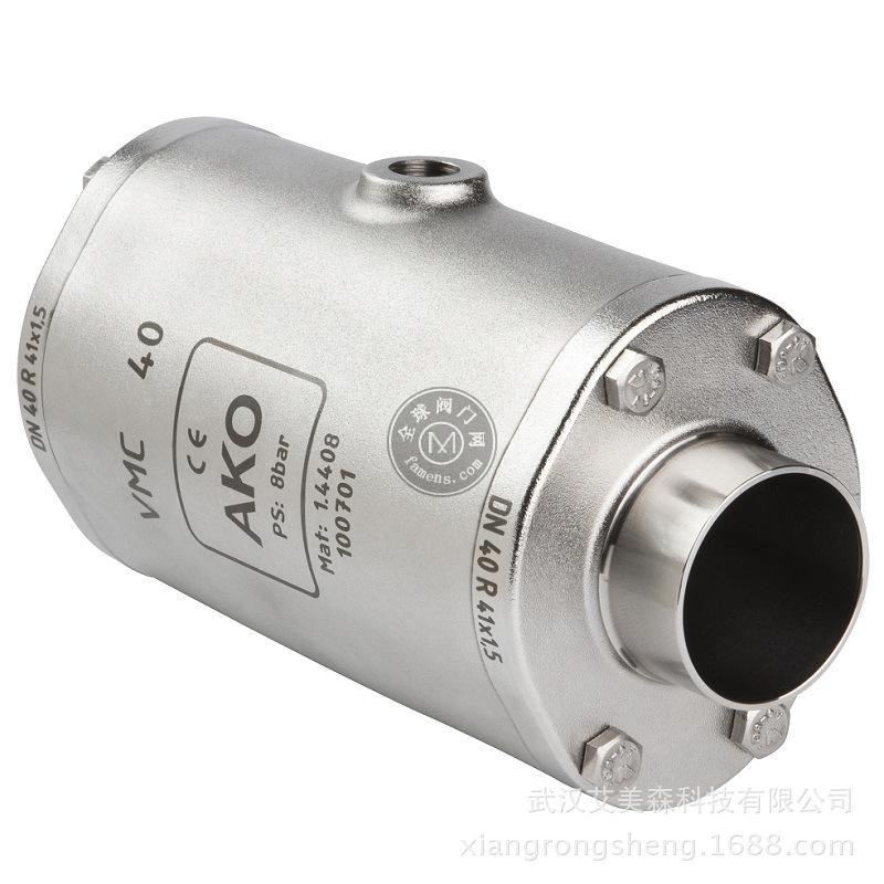 德国AKO  VMC气动挠性阀-端焊接