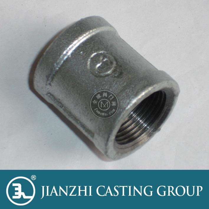批發建支管件 DN25熱鍍鋅管箍 燃氣工程指定品牌