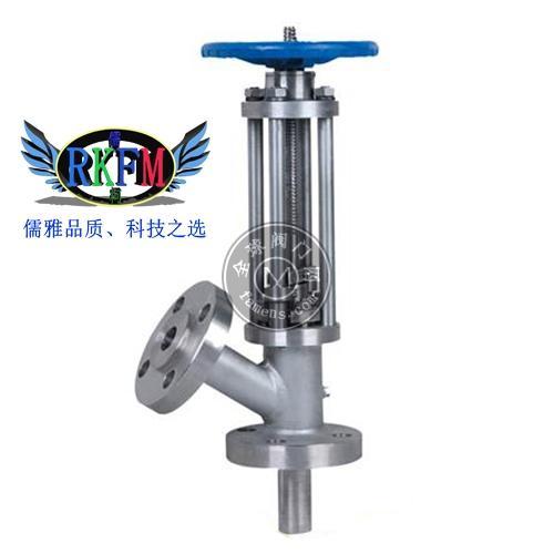 上海儒柯HG5-86-02型手动柱塞式放料阀