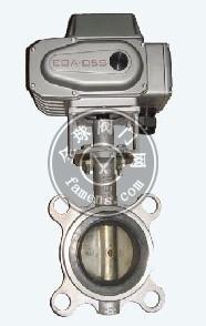 電動不銹鋼對夾式軟密封蝶閥D971X-10P