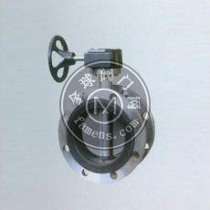 蝸輪式不銹鋼法蘭軟密封蝶閥D341X-10P
