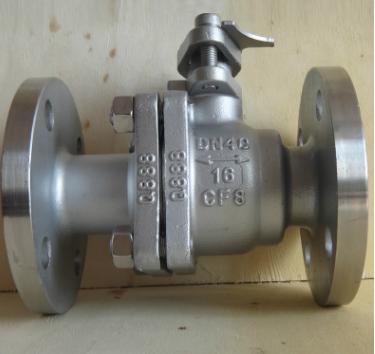 厂家直供Q41H/Y优质不锈钢手动硬密封法兰球阀