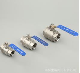 直供2PS不锈钢双向直通式NPT螺纹球阀