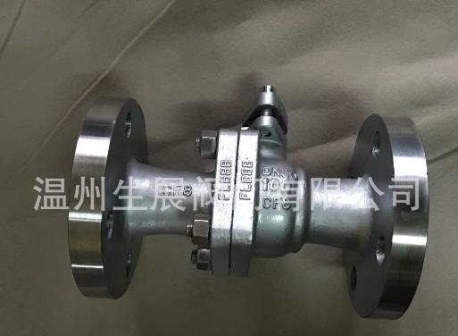 厂家直供Q41F-100P 优质不锈钢法兰球阀