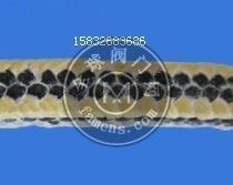 四角芳纶黑四氟混编盘根定做芳纶黑四氟混编盘根厂家