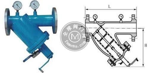 沸点YGSJ-16/25C手摇刷式Y型过滤器