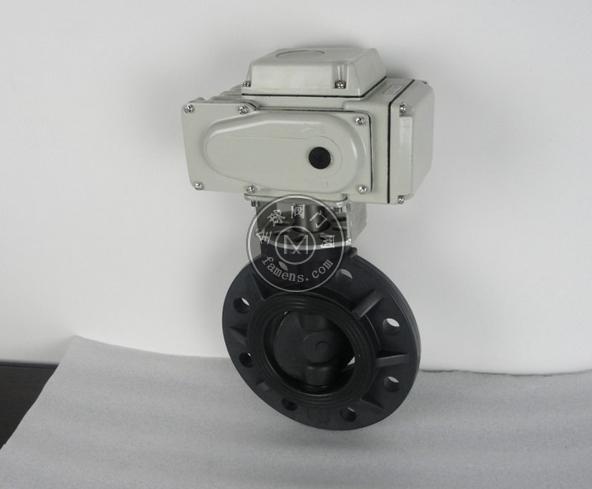 D971X-10S塑料PVC電動蝶閥