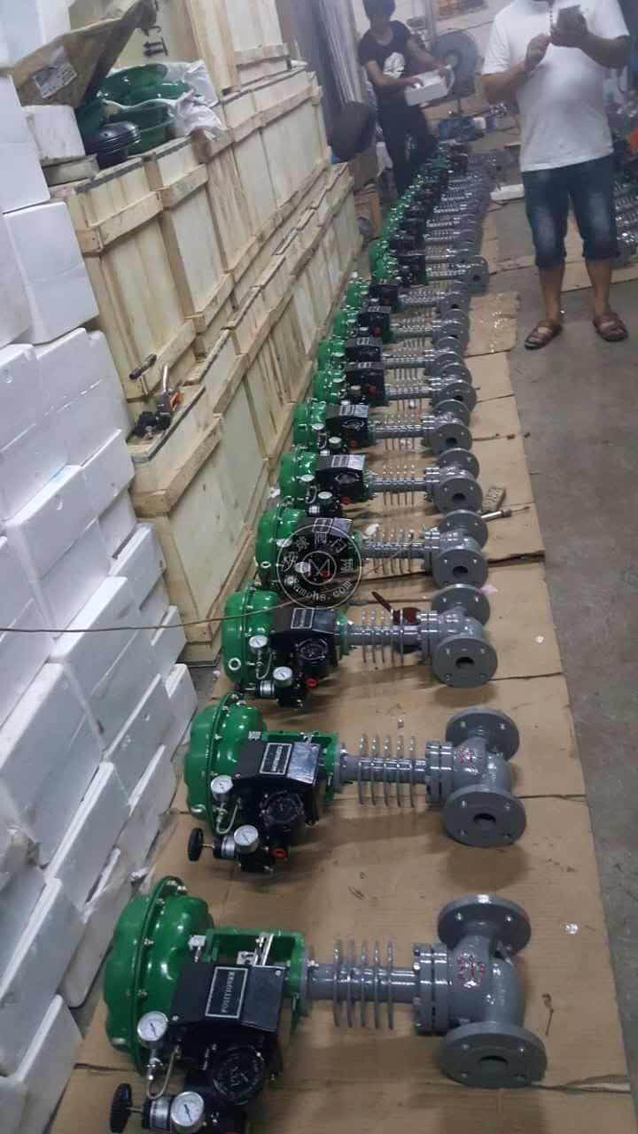 ZXM型系列气动薄膜带波纹管套筒调节阀