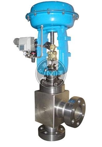 ZMAS氣動薄膜高壓角型調節閥