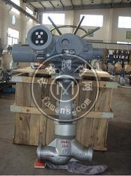 J961Y电动高压截止阀(电站截止阀)