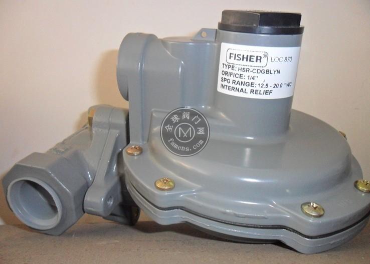 費希爾HSR燃氣減壓閥  HSR液化氣調壓器
