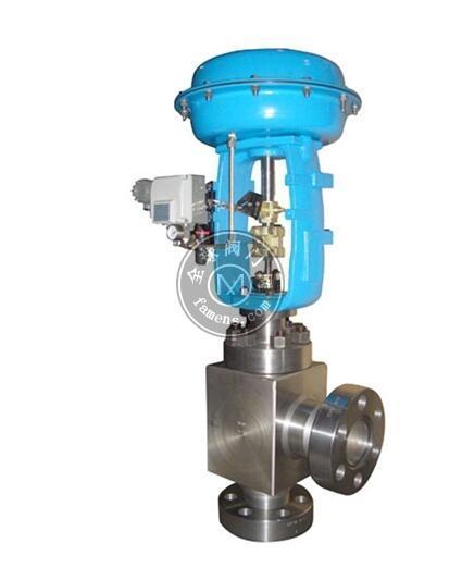 ZJHS氣動薄膜高壓角型調節閥