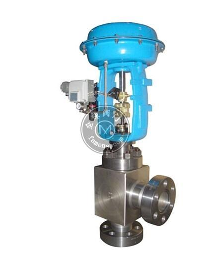 ZJHS气动薄膜高压角型调节阀